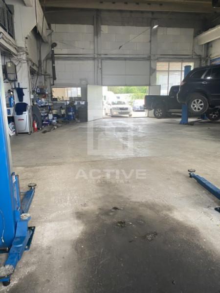 Hala + curte -pretabil service auto